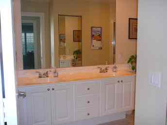 Bathroom 1 - two-sink vanity
